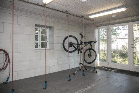 Indendørs cykelvask i Laden