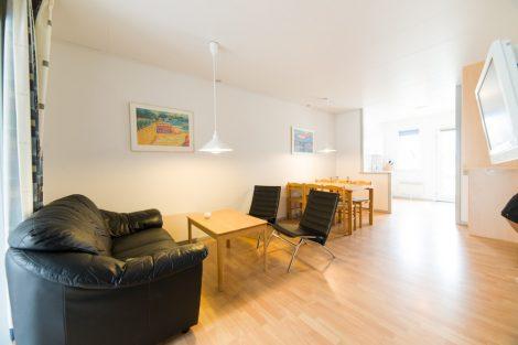 Bo i ferielejligheder med plads til 4-6 personer når du er på weekendophold i Slettestrand i Nordjylland.