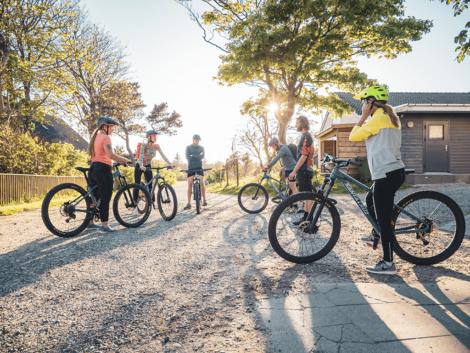 Guidet mountainbike tur inkl. cykeludlejning   Foto: Daniel Villadsen