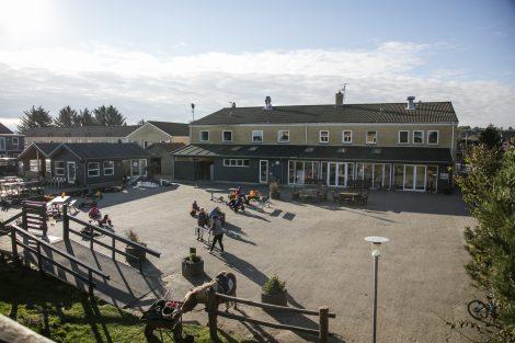 Feriecenter Slettestrand ligger 200 meter fra Vesterhavet