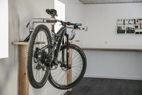 Arbejdsstande til cykelreparation