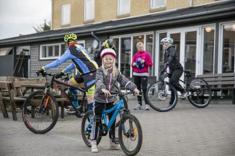 Udlejning af mountainbikes i Slettestrand i Nordjylland.