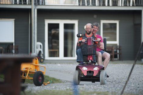 Søde Rigmor og Kurt på ferie i Slettestrand