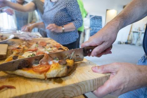 I pizzaovnen i Madsmedjen kan der tilberedes helt fantastiske pizzaer!