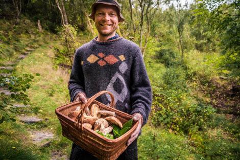 Efterårs sanketur med Kresten Kronborg   Foto: Lars Veenstra