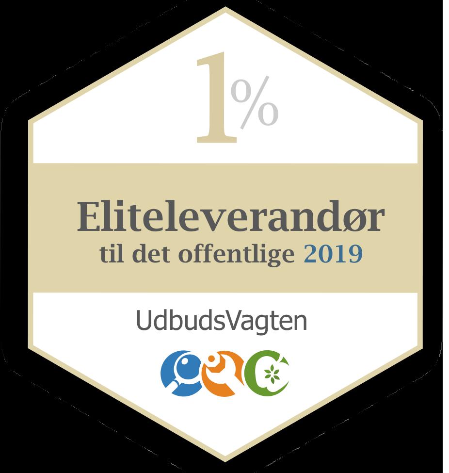Eliteleverandør til det offentlige 2019