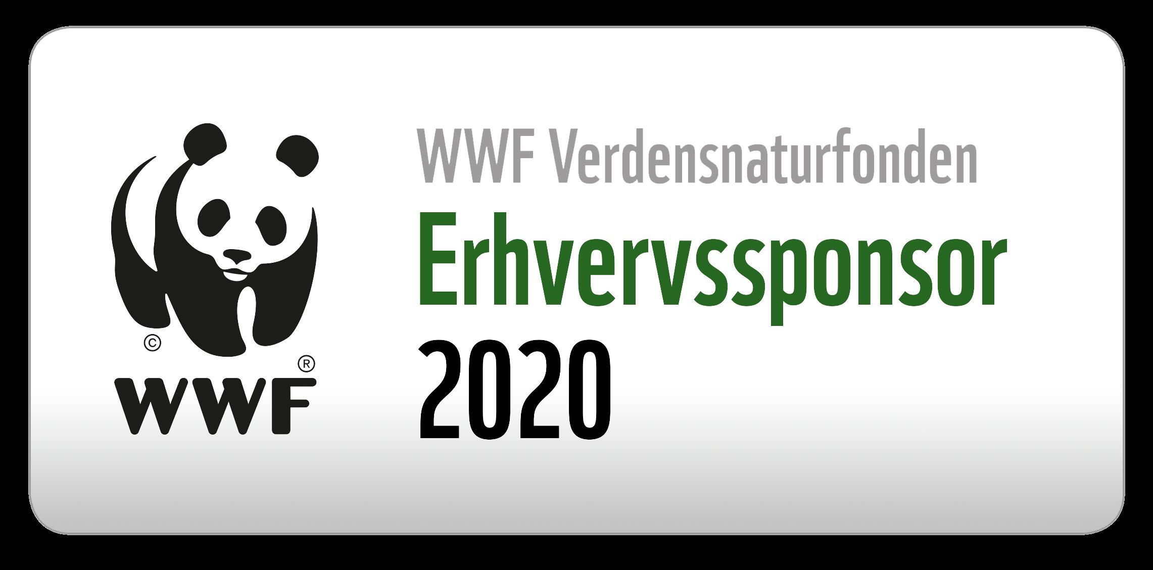 WWF Verdensnaturfonden Erhvervssponsor 2020