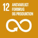 FN Verdensmål 12: Ansvarligt forbrug og produktion