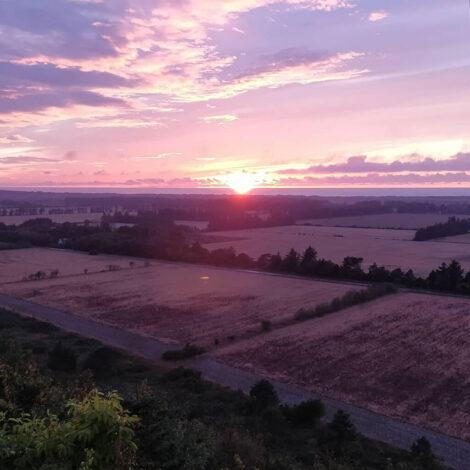 Udsigt til solnedgangen   Foto: David Andreasen